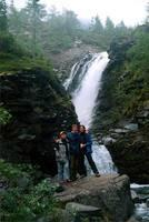 Мы у водопада